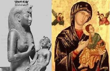 Isis and Horus / Mary and Jesus