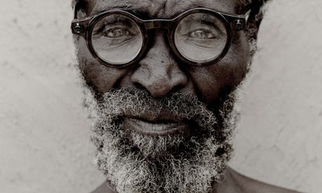 A Zulu Man Wearing Adaptive Glasses